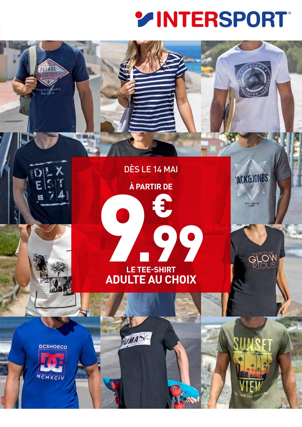 INTERSPORT MONS T shirts (12 pages) by INTERSPORT BELGIUM