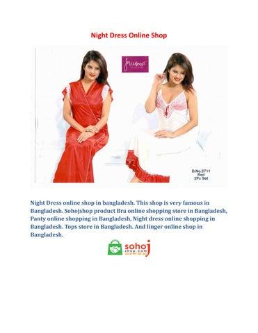 45ad24e0763 Night Dress Online Shop in Bangladesh by Sohoshop - issuu