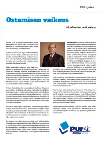 Page 3 of Purnews 2018 - Pääkirjoitus