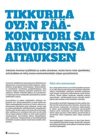 Page 6 of Tikkurila Oyj:n pääkonttori sai arvoisensa aitauksen