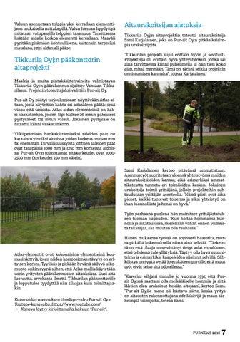 Page 7 of Tikkurila Oyj:n pääkonttori sai arvoisensa aitauksen