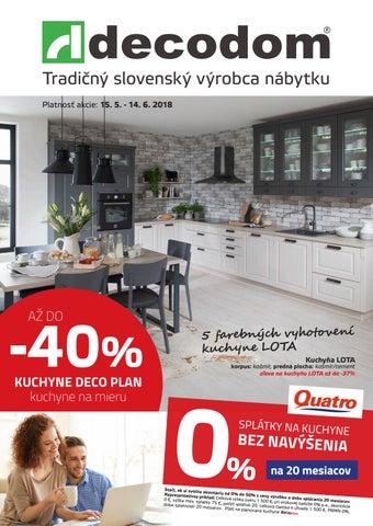 50c6300ecdfb Tradičný slovenský výrobca nábytku Platnosť akcie  15. 5. - 14. 6. 2018