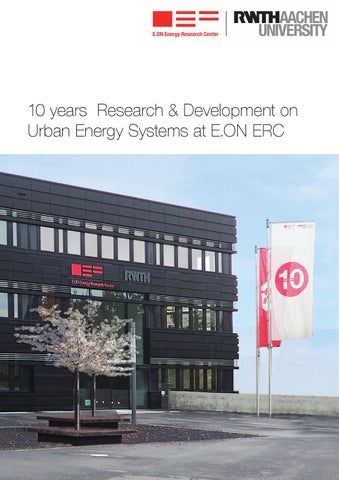 10 years Research & Development on Urban Energy Systems at E