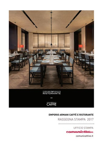 41d6328df76 Rassegna Stampa Emporio Armani Caffè e Ristorante Bologna by ...