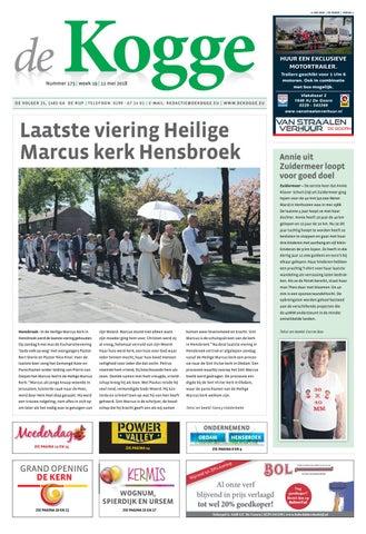 De kogge week 19 2018 by Uitgeverij De Uitkomst - issuu