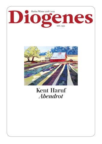 Diogenes Vorschau Herbst 2018 by diogenesverlag - issuu