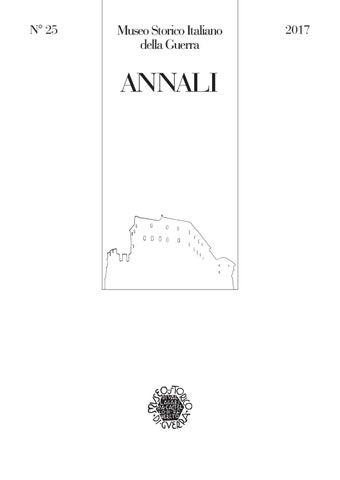 Annali 25 17 by Museo storico italiano della Guerra - issuu f8be1f06c89