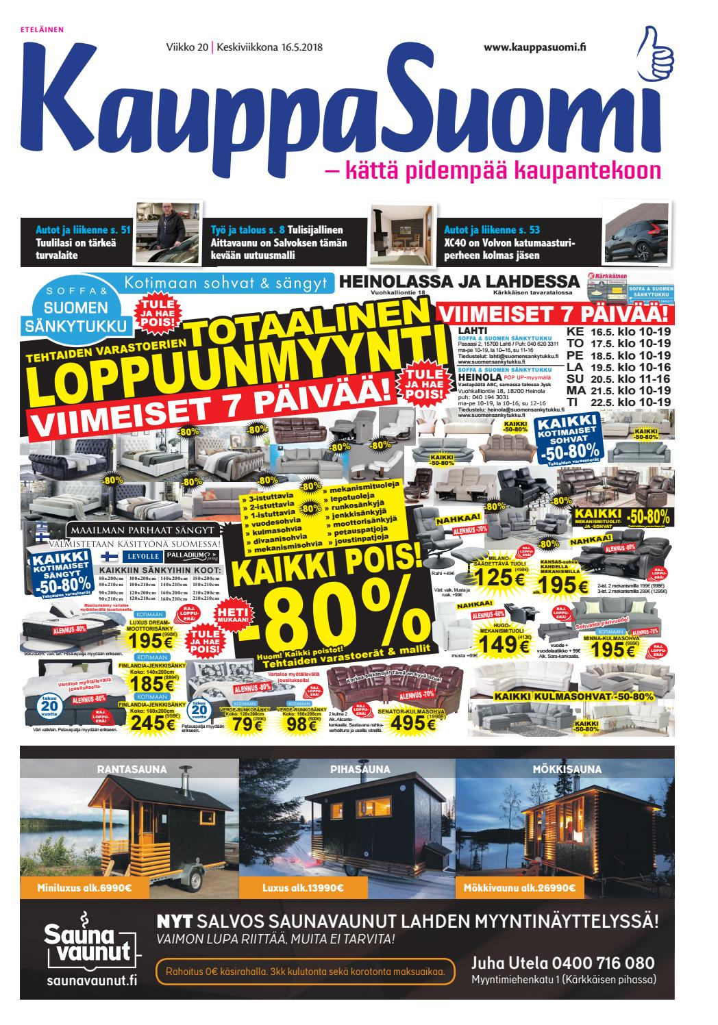 watch 87350 75512 KauppaSuomi 20 2018 (E) by KauppaSuomi - issuu