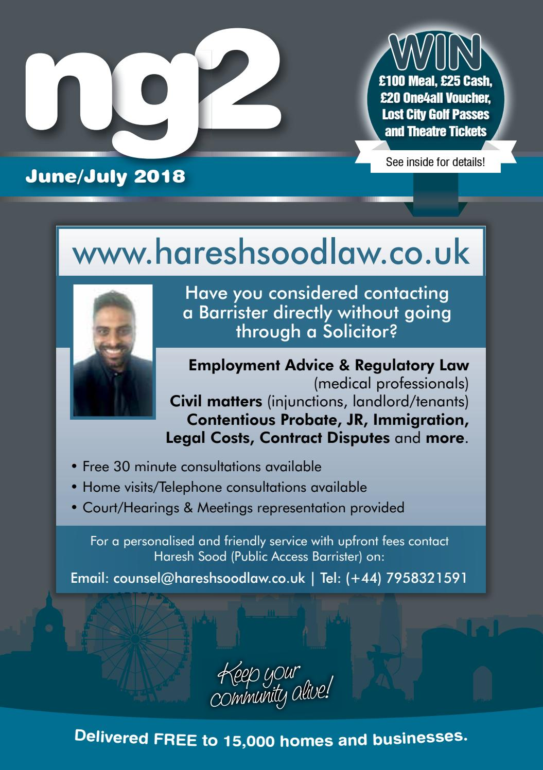 Ng2 West Bridgford June/July 2018 by Ali Wale - issuu