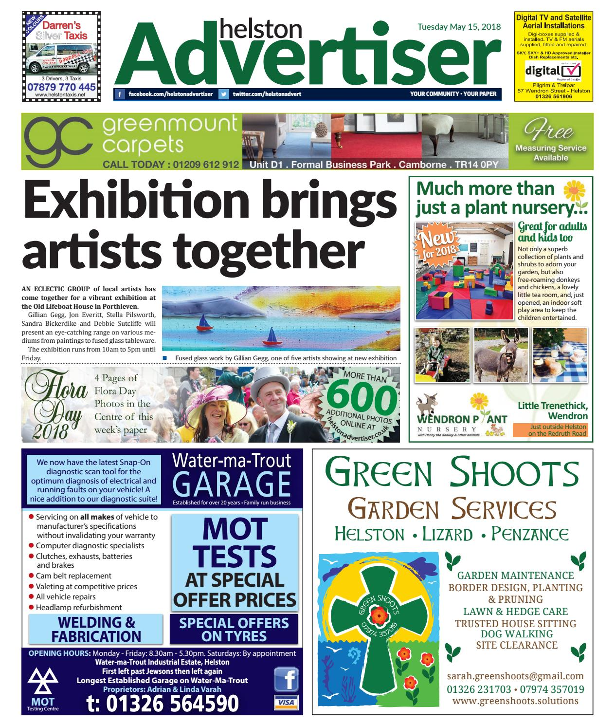 Helston Advertiser - May 15th 2018 by Helston Advertiser - issuu