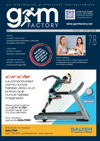 38a51ee94 Gym Factory Gestión nº78 by Gym Factory Magazine - issuu