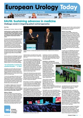 European Urology Today March/May 2018 by European Association of