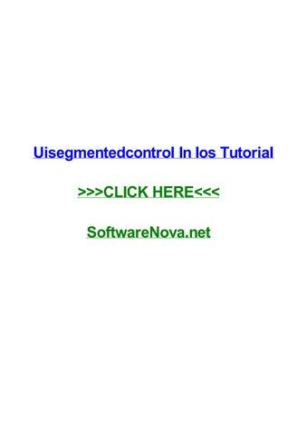 Ios development with swift tutorial 16 segmented control youtube.