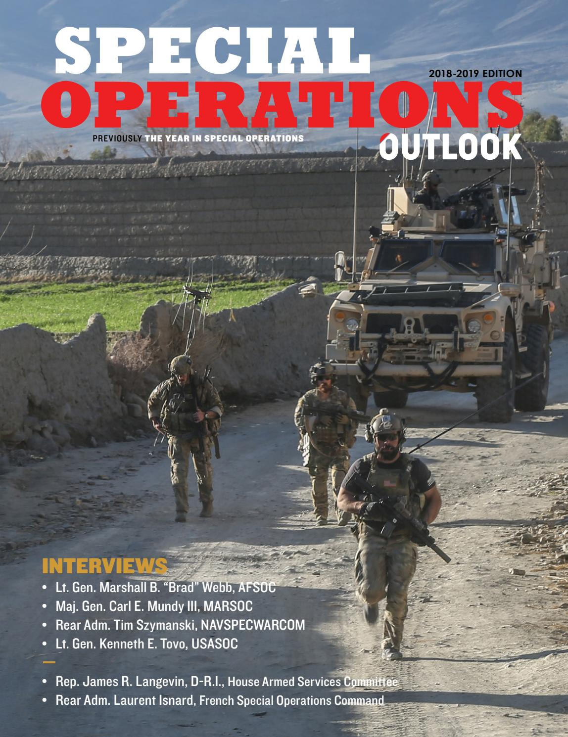 Special Operations Outlook 2018-2019 Edition by Faircount