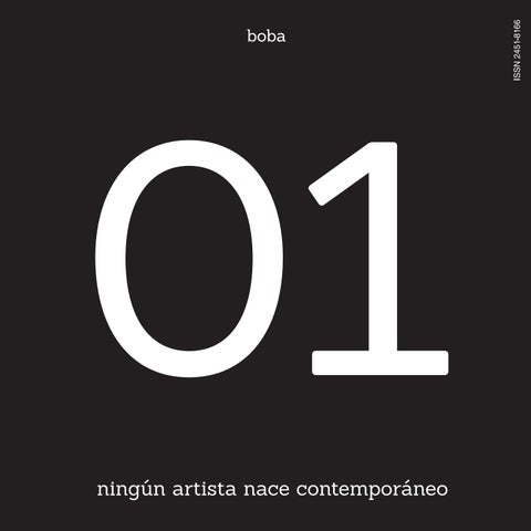 01 ningún artista nace contemporáneo by boba - issuu