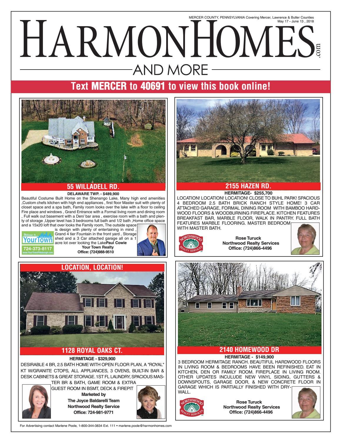 Harmon Homes: MERCER COUNTY by HarmonHomes com - issuu