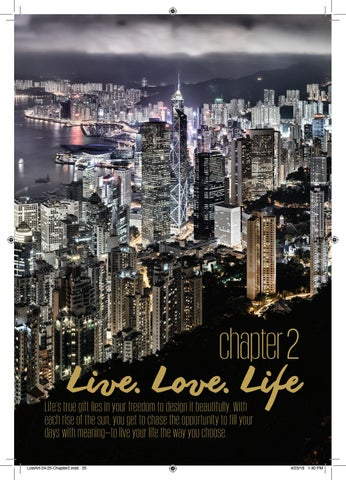Page 25 of Live. Love. Life.