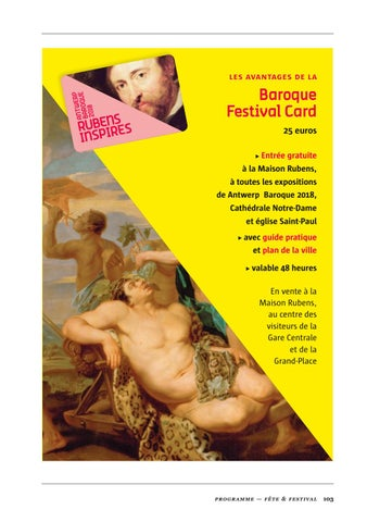 Page 105 of Baroque Festival Card