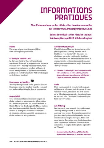 Page 108 of Informations pratiques