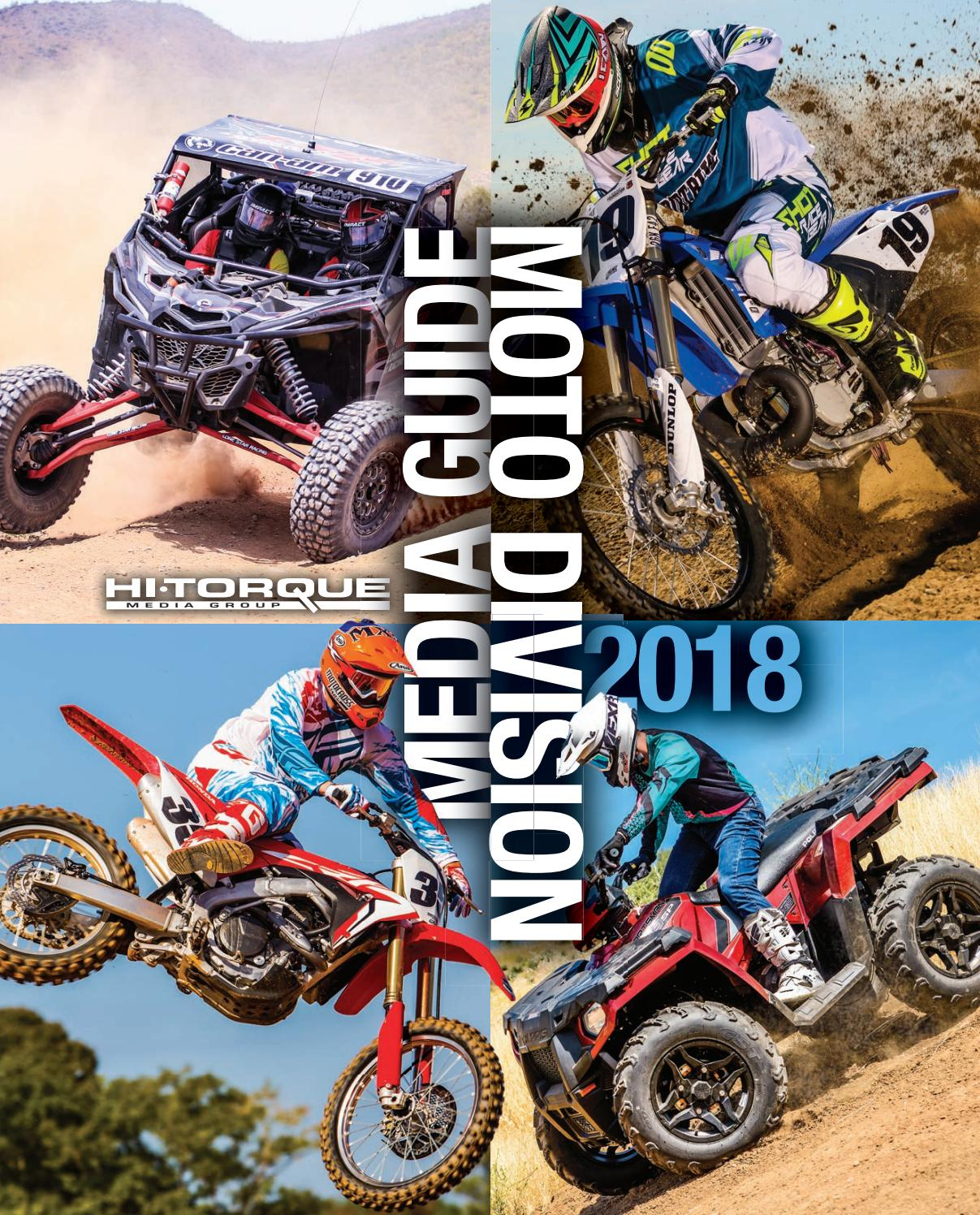 2018 media guide moto by Hi-Torque Publications - issuu