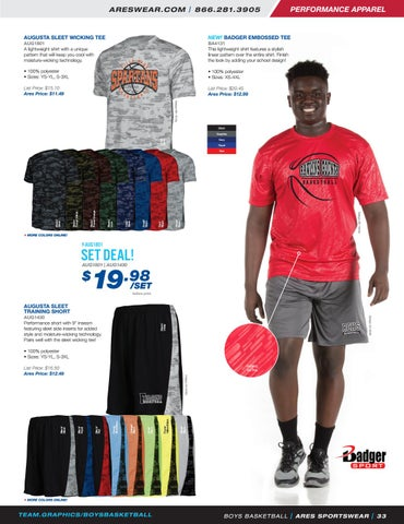 54e3b43ef1b 2018 Ares Sportswear Boys Basketball Catalog by Ares Sportswear - issuu