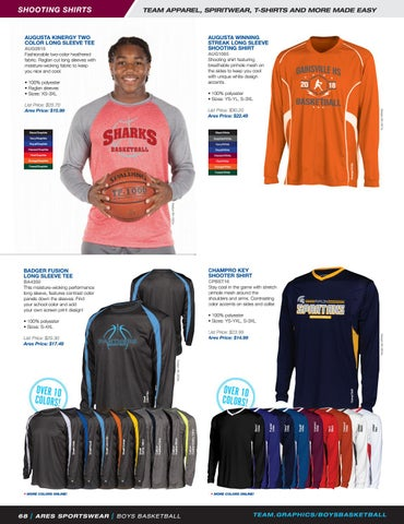 02605509daa 2018 Ares Sportswear Boys Basketball Catalog by Ares Sportswear - issuu