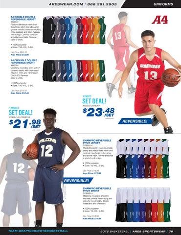 27521f606c3 2018 Ares Sportswear Boys Basketball Catalog by Ares Sportswear - issuu