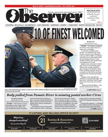 The Observer -- May 16, 2018 Early Edition by Kevin Canessa