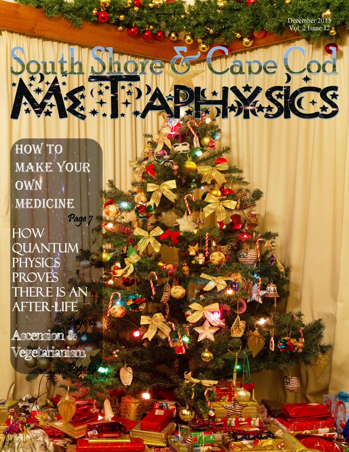 South Shore and Cape Cod Metaphysics December 2013 by South