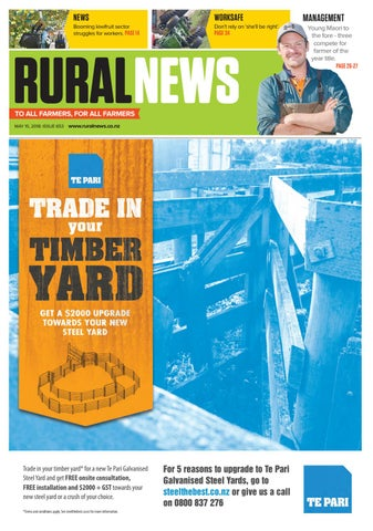 Rural News 15 May 2018 by Rural News Group - issuu
