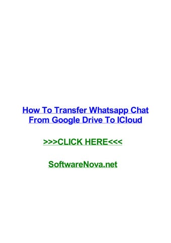 google drive icloud iphone