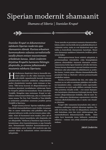 Page 16 of Siperian modernit shamaanit