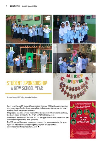 Page 29 of Student Sponsorship Update 2017