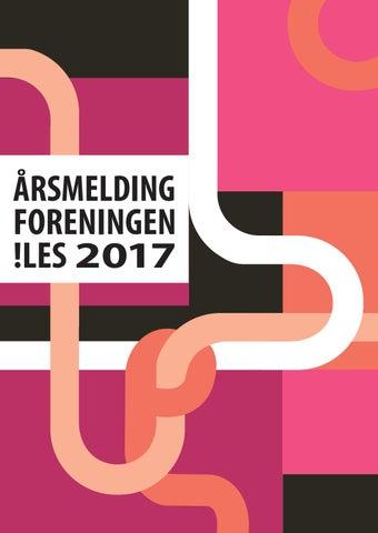 e15bd035c Årsmøtepapirer 2018 by Foreningen !les - issuu