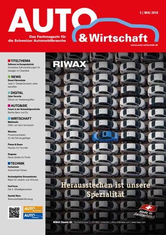 Aw 05 2018 By A W Verlag Ag Issuu