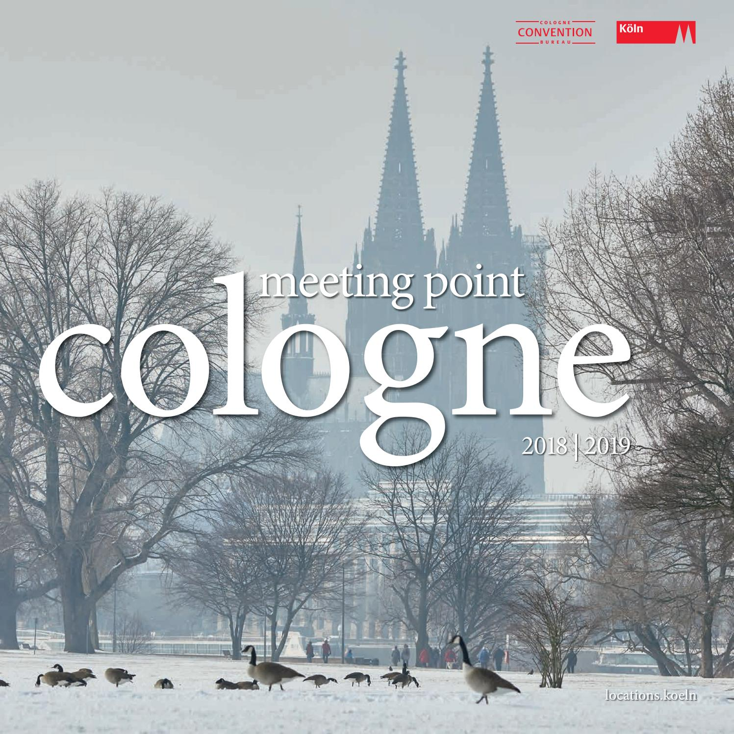 Meeting Point Cologne 2018/2019 By KölnTourismus GmbH   Issuu