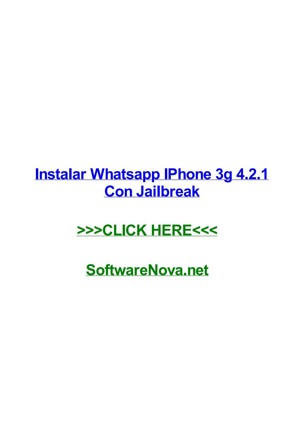 Whatsapp ipa скачать