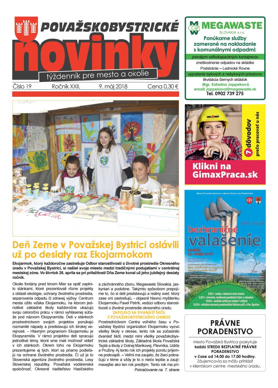 15b084ce3 Považskobystrické novinky č. 19/2018 by Považskobystrické novinky - issuu