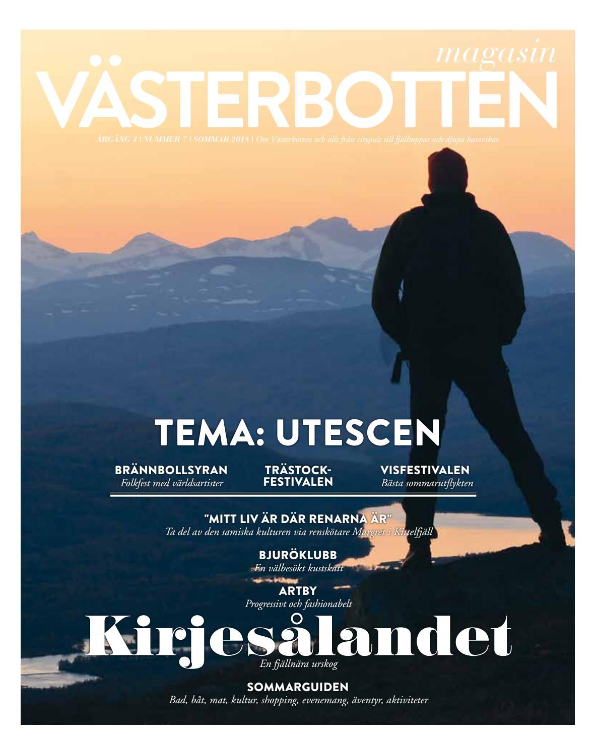 a618868141c4 Magasin Västerbotten  7 sommar 2018 by GILLA - issuu