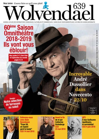 Wolvendael magazine n° 639 mai 2018 by Centre Culturel d Uccle - issuu 459fcf18dff