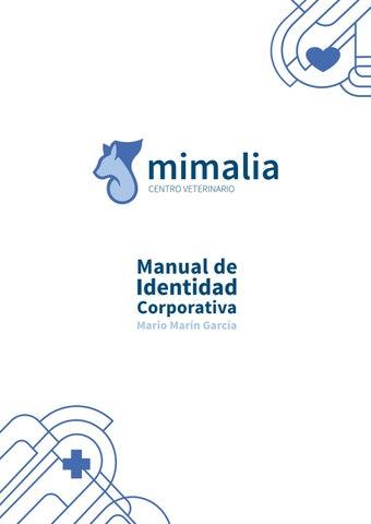 MIMALIA Manual de identidad corporativa. MARIO MARÍN by Estación ... af2153e622e0a