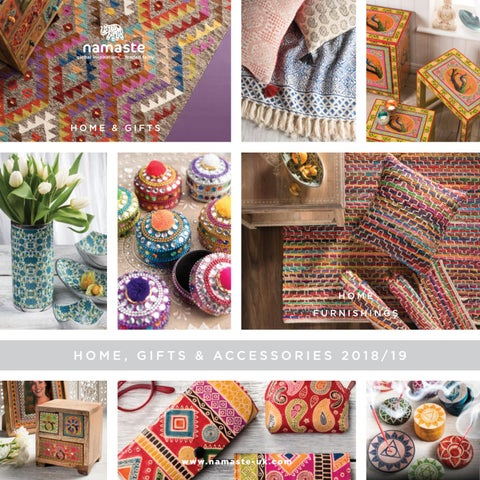 Home Gifts & Accessories 2018/19 by Namaste Fair Trade UK - issuu