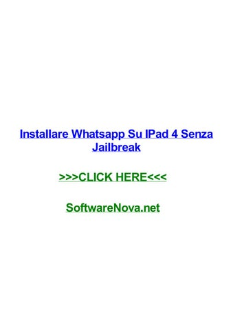 Come scaricare whatsapp su iphone 6s