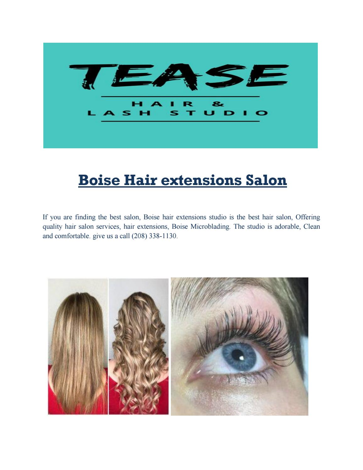 Boise Hair Extensions Salon By John Cina Issuu