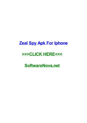 zeal spy iphone