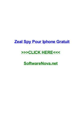 zeal spy pc gratuit