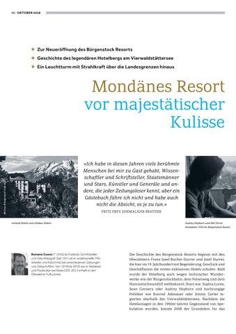 Page 6 of Der Hotelberg. Geschichte und Geschichten vom Bürgenstock Resort 1871 bis heute