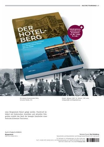 Page 7 of Der Hotelberg. Geschichte und Geschichten vom Bürgenstock Resort 1871 bis heute