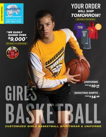 986386b65d6 2018 Ares Sportswear Girls Basketball Catalog by Ares Sportswear - issuu