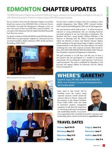 Page 9 of Spotlight: REIC Edmonton Chapter